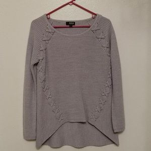 a.n.a. gray sweater.